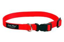 Obojek nylonový - červený - 1 x 20 - 35 cm