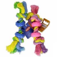 Hračka bavl. + guma Čínka barevná  Nobby 16 cm 1 ks