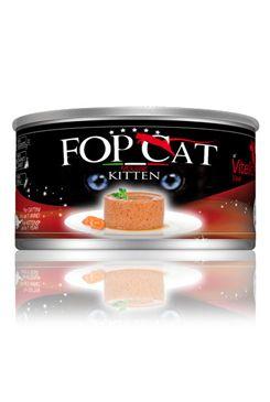 Konzerva pro kočky Fop Mousse Cat kitten 85 g