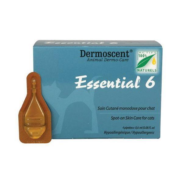 Essential Spot on for Cats 0,6 ml antiparazitní pipety pro kočky 4 ks