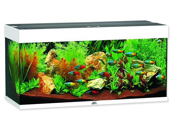 Juwel Rio 180 akvárium set bílý 101x41x50 cm, objem 125 l