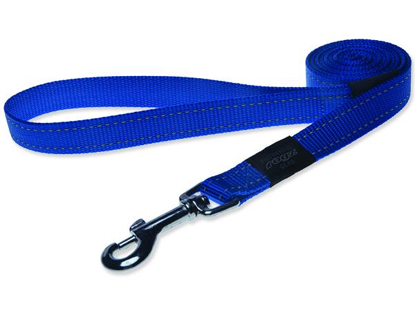 Rogz Utility Nylonové reflexní vodítko pro psy modré - L, 1,4 mx2 cm