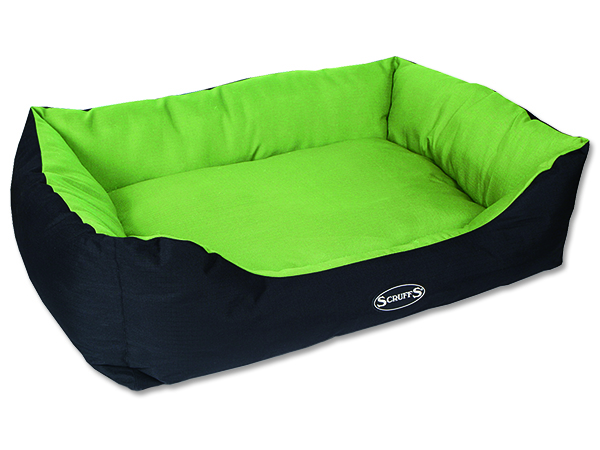 Scruffs Expedition Box Bed pelech pro psy limetkový - velikost XL