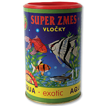 Aqua Exotic supersměs vločkové krmivo 1 l