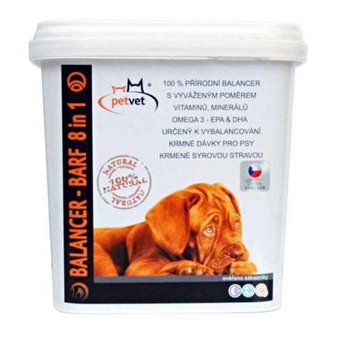 Petvet Balancer Barf 8 in 1 800 g