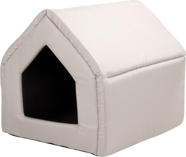 Bouda pro psy a kočky Argi - béžová - 43 x 49 x 43 cm