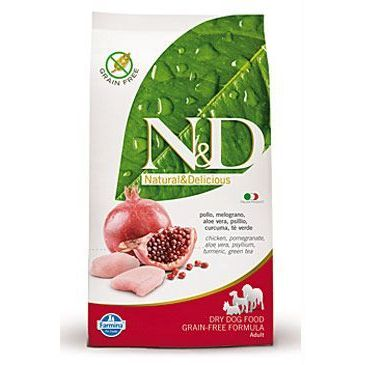 N&D Grain Free Dog Adult Maxi Chicken & Pomegranate 12 kg