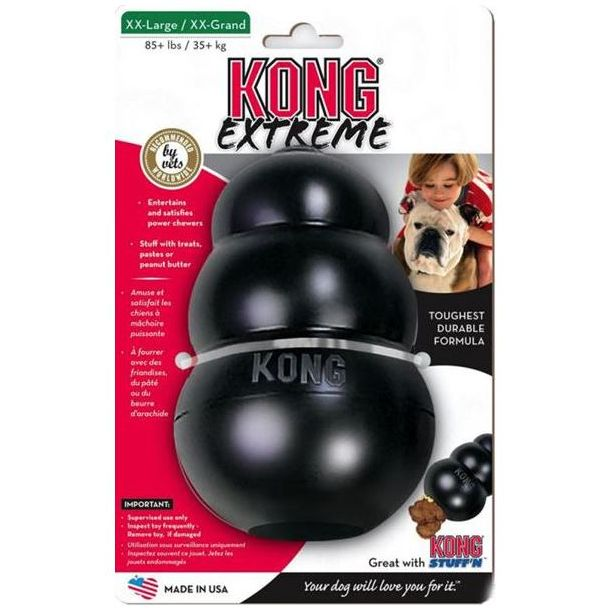 Kong Extreme Giant odolná gumová hračka pro psy nad 35 kg - XXL