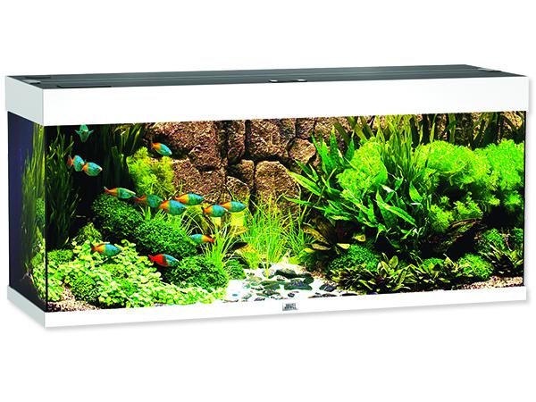 Juwel Rio 240 akvárium set bílý 121x41x55 cm, objem 240 l