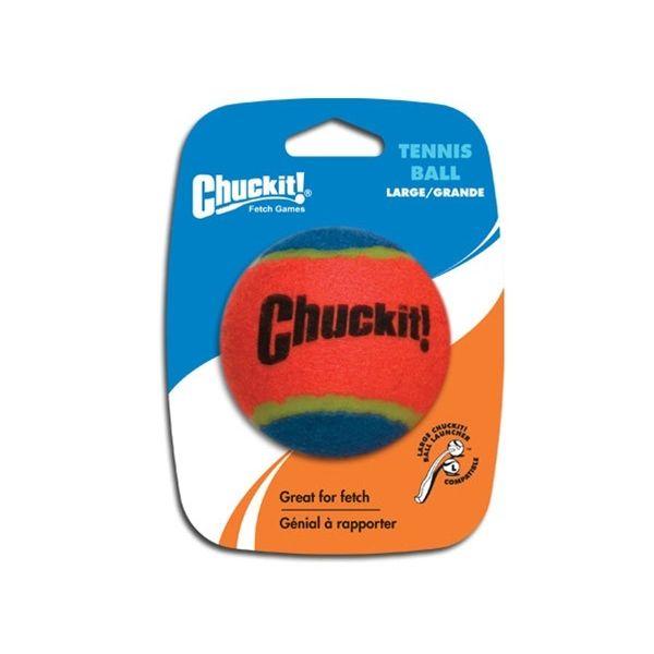 Chuckit! míček tenisový oranžovo modrý - velikost L, 7,5 cm