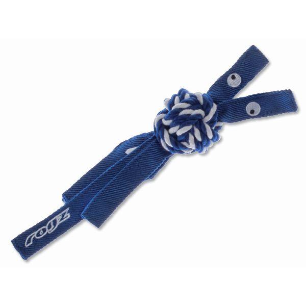 Rogz Cowboyz Provaz pro psy modrý - S, 25x4,9 cm