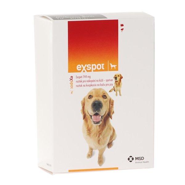 Exspot Antiparazitní pipeta pro psy 1 ml, 2 ks