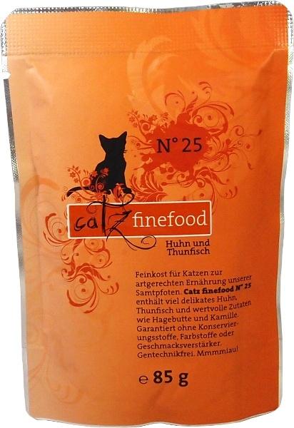 Catz Finefood No.25 - kuře & tuňák pro kočky 85 g