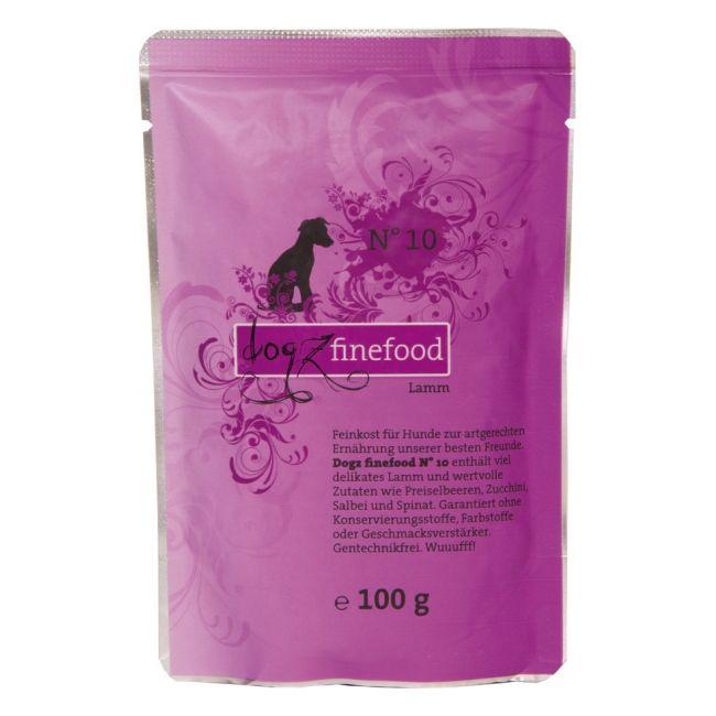 Dogz Finefood No.10 - jehněčí pro psy 100 g