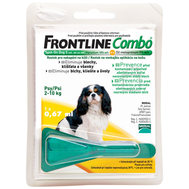 Frontline Combo Antiparazitní pipeta pro psy