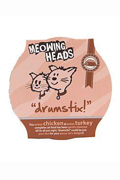 Meowing Heads Drumstix - kuřecí pro kočky 85 g