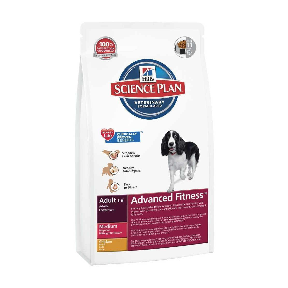 Hill's Science Plan Canine Dry Adult Chicken - kuřecí