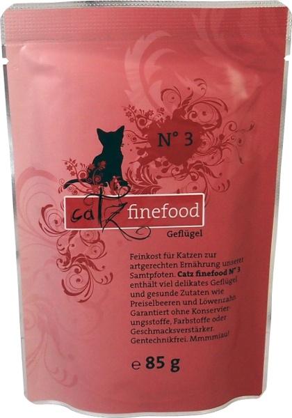 Catz Finefood No.3 - drůbež pro kočky 85 g