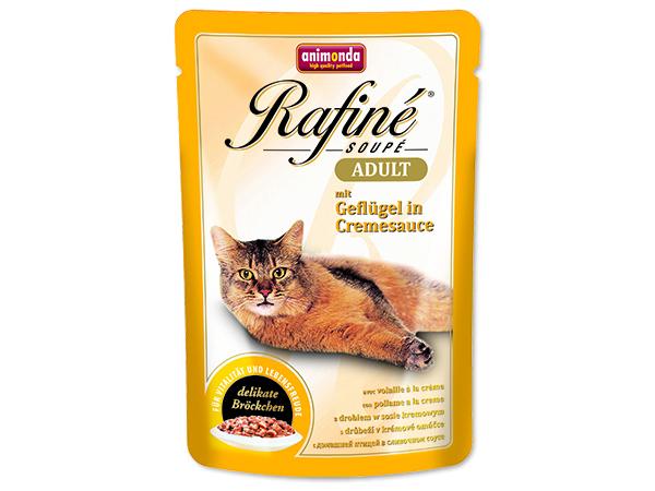 Animonda Rafine Soupe - drůbež v krémové omáčce pro dospělé kočky 100 g
