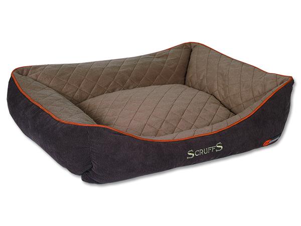 Scruffs Thermal Box Bed Termální pelíšek hnědý - XL, 90x70 cm