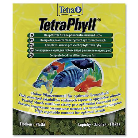 Tetra Phyll vločkové krmivo pro býložravé ryby sáček 12 g