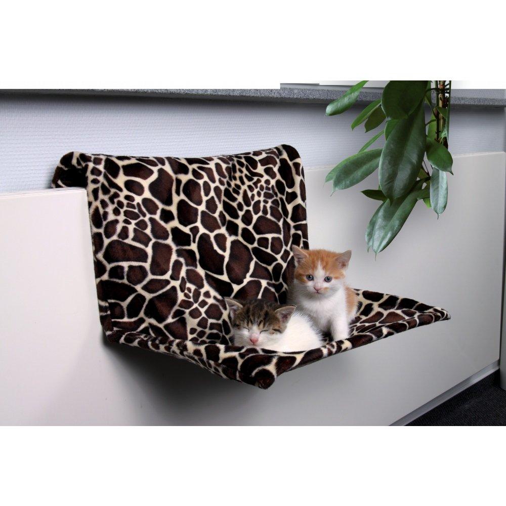 Trixie závěsné lůžko na topení plyšové motiv žirafa 48 x 26 x 30 cm