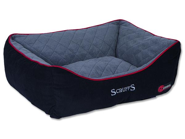 Scruffs Thermal Box Bed Termální pelíšek černý - L