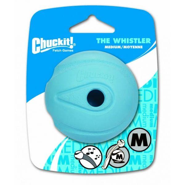 Chuckit! Whistler svištící aportovací míček - M, 6,5 cm