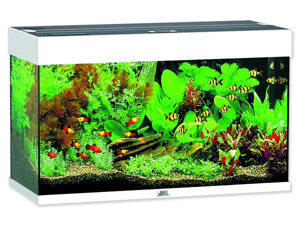Juwel Rio 125 akvárium set bílé 81x36x50 cm, objem 125 l