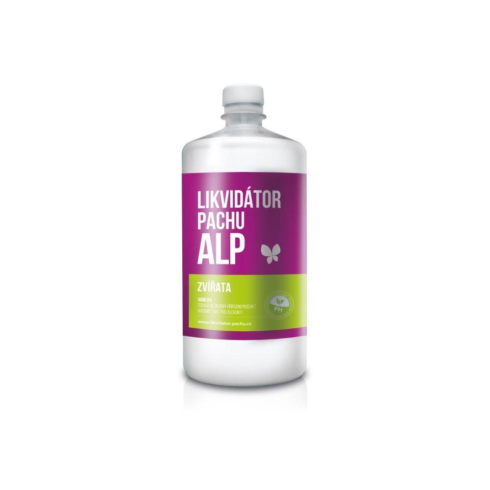 Alp Likvidátor pachu Zvířata - vanilka lahev 1 l