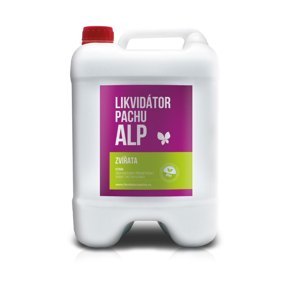 Alp Likvidátor pachu Zvířata - citron kanystr 5 l