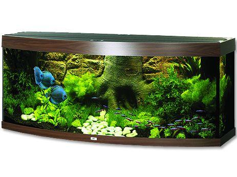 Juwel Vision 450 akvárium set tmavě hnědý 151x61x64 cm, objem 450 l