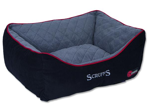 Scruffs Thermal Box Bed Termální pelíšek černý - S, 50x40 cm