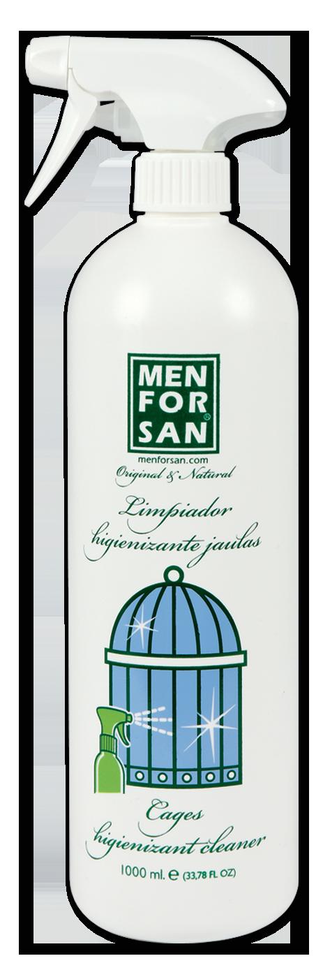 MenForSan Hygienický čistič na ptačí klece 1000 ml