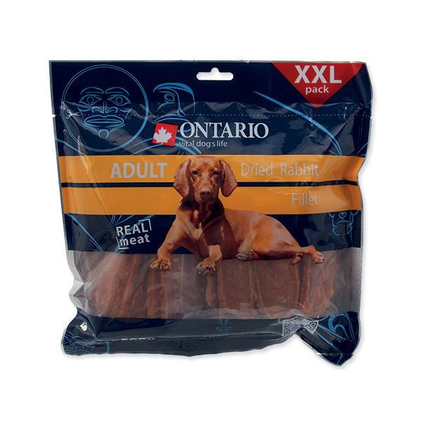 ONTARIO Snack Dry Rabbit Fillet 500 g