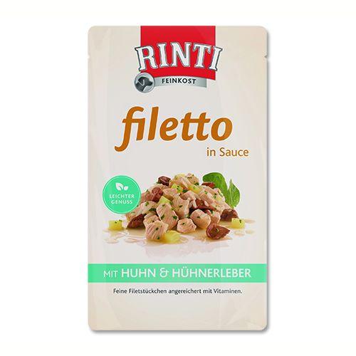 Rinti Filetto - kuře & kuřecí játra v omáčce 125 g