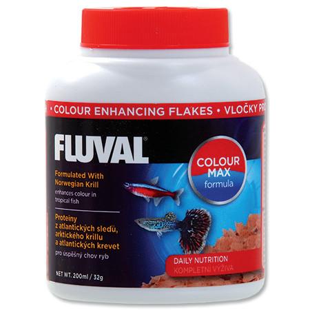 Hagen Fluval Color Enhancing Flakes vločkové krmivo pro intenzivní zbarvení ryb 200 ml