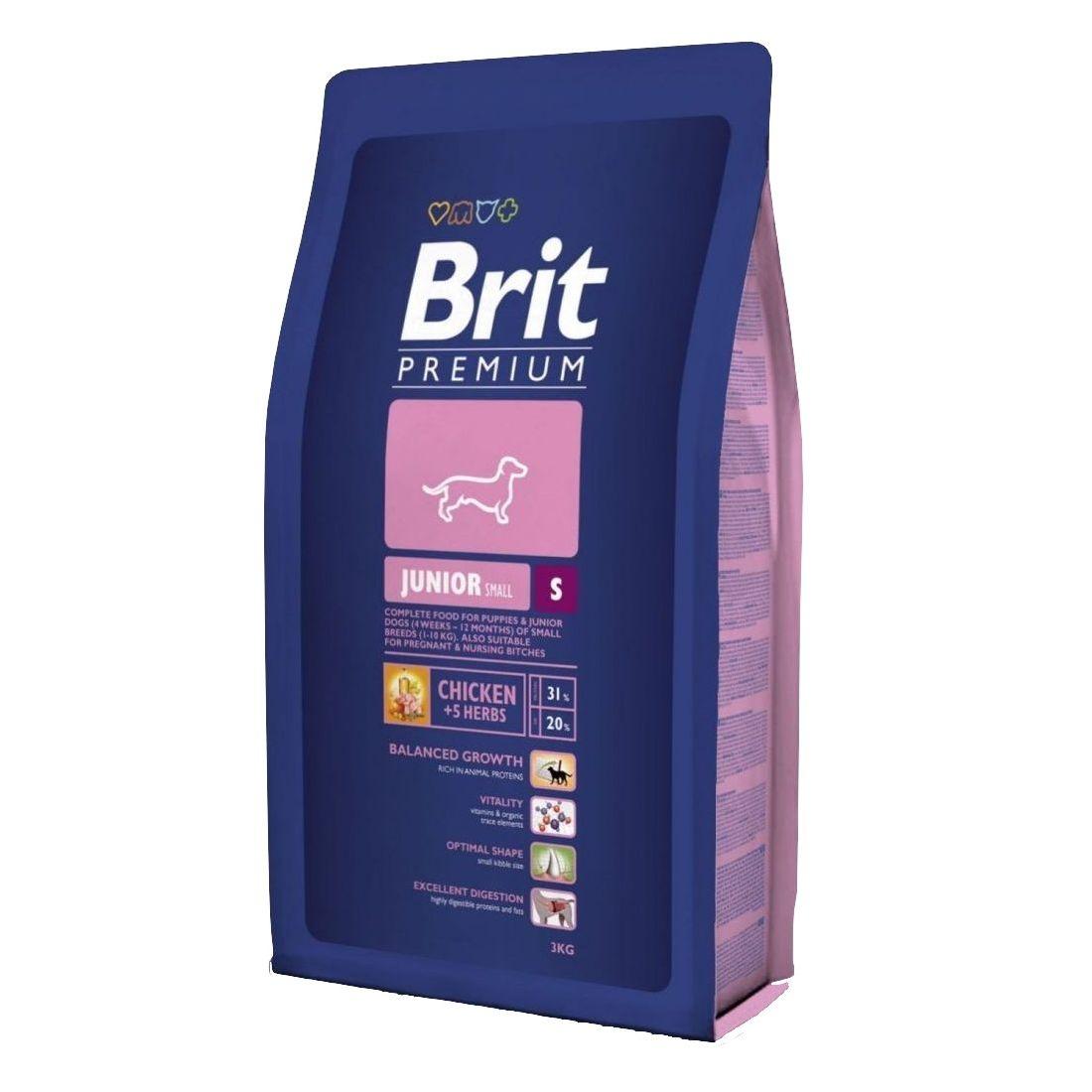 Brit Premium Junior S 3 kg
