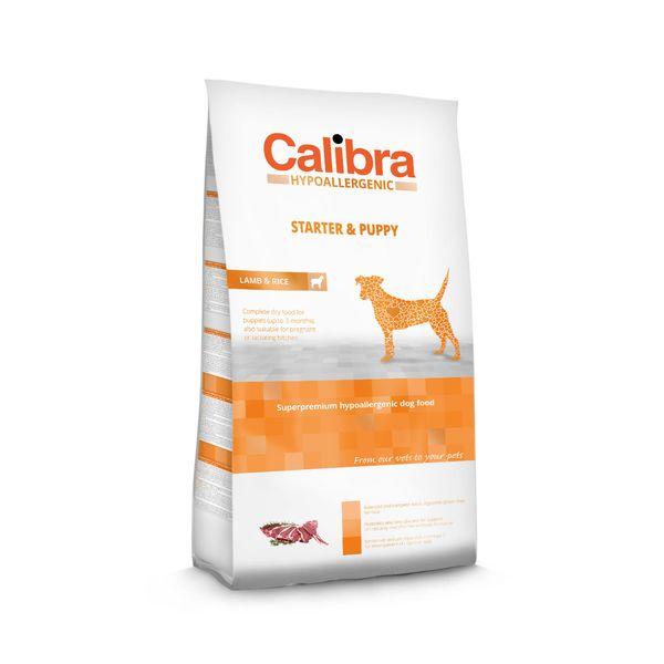 Calibra Dog HA Starter & Puppy Lamb 3 kg NEW