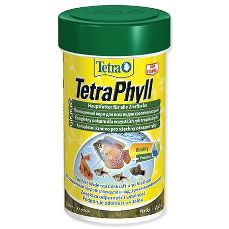 Tetra Phyll vločkové krmivo pro býložravé ryby 100 ml