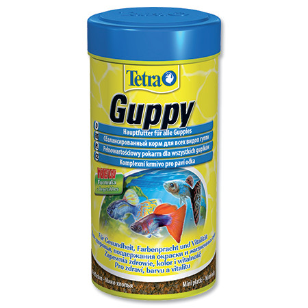 Tetra Guppy food základní krmivo pro ryby 250 ml