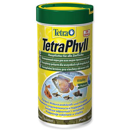 Tetra Phyll vločkové krmivo pro býložravé ryby 250 ml