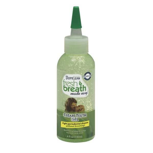 Tropiclean Clean Teeth Gel - gel na zuby 118 ml