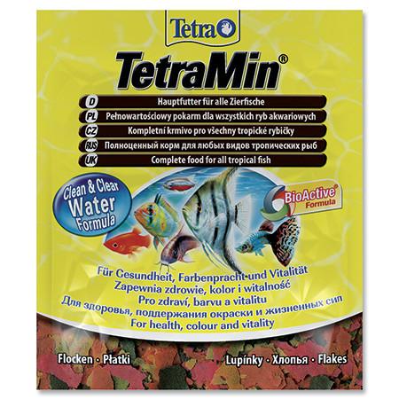 Tetra Min vločkové krmivo pro ryby sáček 12 g