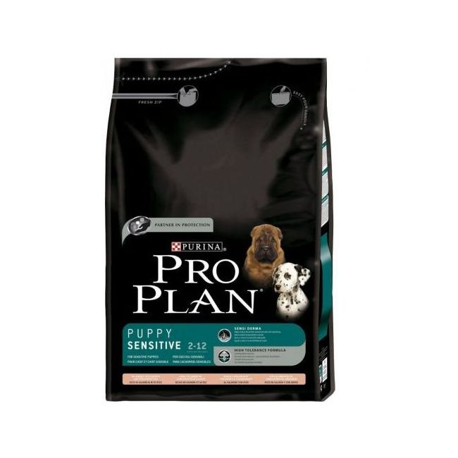 Pro Plan Puppy Small & Mini Sensitive Derma salmon 3 kg