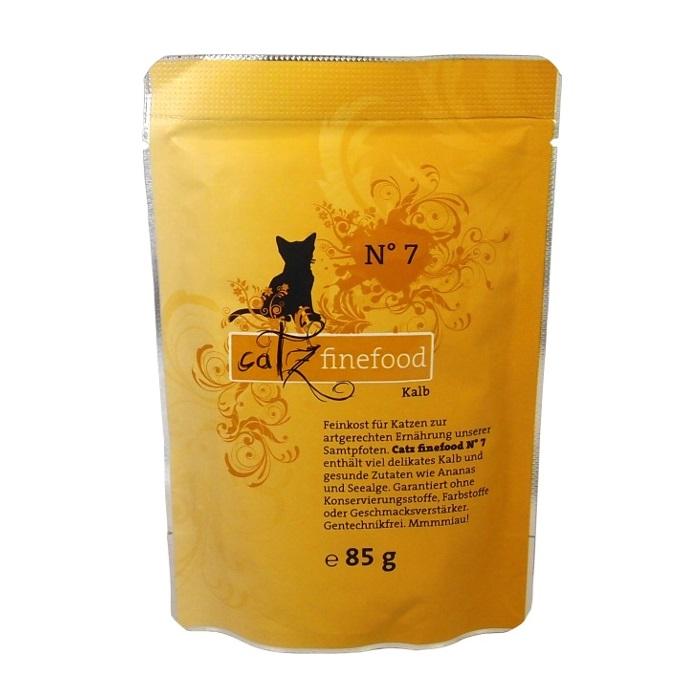 Catz Finefood No.7 - telecí pro kočky 85 g