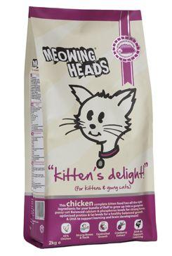 Meowing Heads Kittens Delight - kuřecí pro koťata 2 kg
