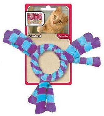 Kong Cat Braidz fleece Kruh plyšový s třásněmi pro kočky