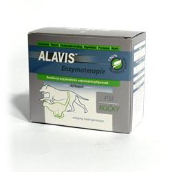 Alavis Enzymoterapie-Curenzym pro psy a kočky - podpora hojení, 40 tablet