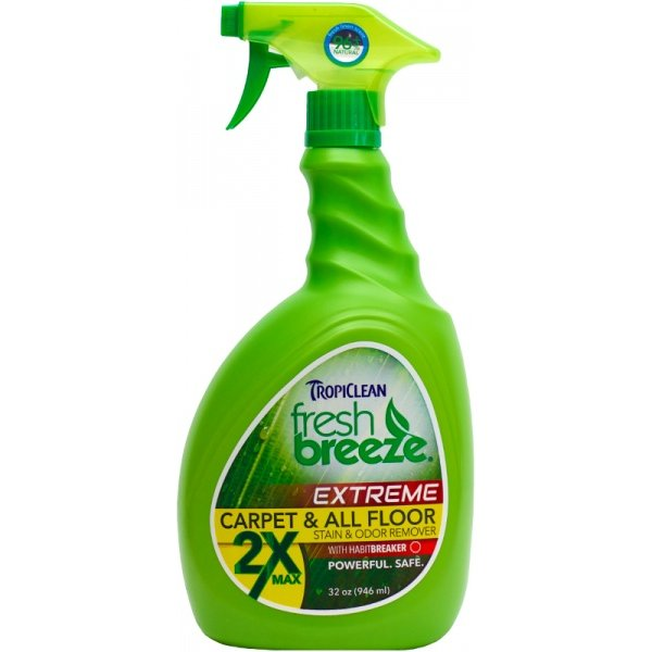 Tropiclean Carpet and All odstraňovač zápachu a skvrn 946 ml